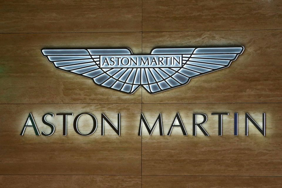 Aston Martin posts smaller loss as sales more than double