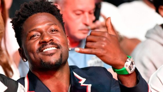 Antonio Brown is sued for altercation with driver of moving truck